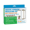 Heat Shrink Window Film Insulation - 5 Window Kit