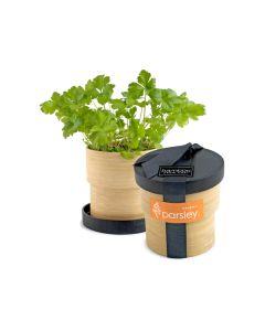 Parsley Bamboo Grow Pot