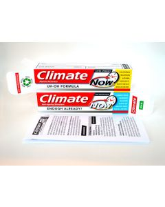 climate toothpaste  - two pack