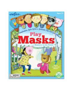 Mystery in the Forest Play Masks